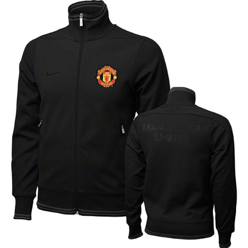 Manchester united black nike jacket