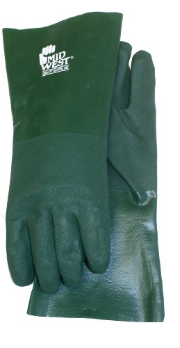 Midwest Gloves and Gear 4414T-L-AZ-6 PVC Coated Glove, Large