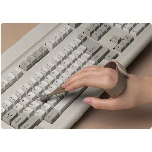 Slip-On Typing/Keyboard Aid - Large, Right