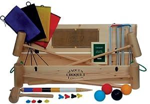 Impressive Wooden Croquet set - Woodstock - Jaques of London Croquet