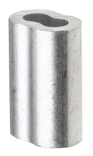 Aluminum Crimping Loop Sleeve for 1/8