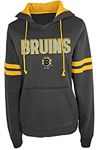NHL Boston Bruins A00498-CH007 Pullover Hood with Contra, X-Large