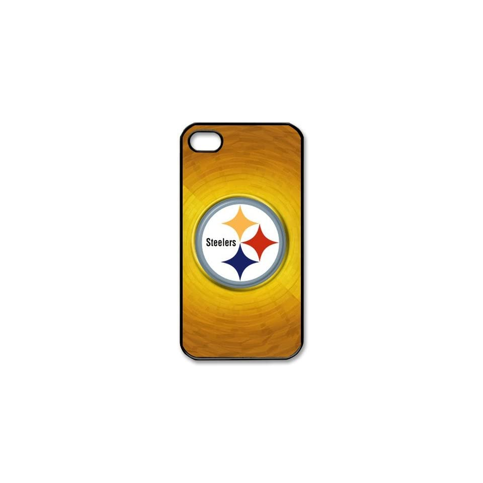 NFL Pittsburgh Steelers iPhone 4/4s PC Cases made of PC plastic Steelers logo