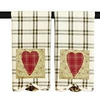 Heartland Tea Towel Set of 2 19x28