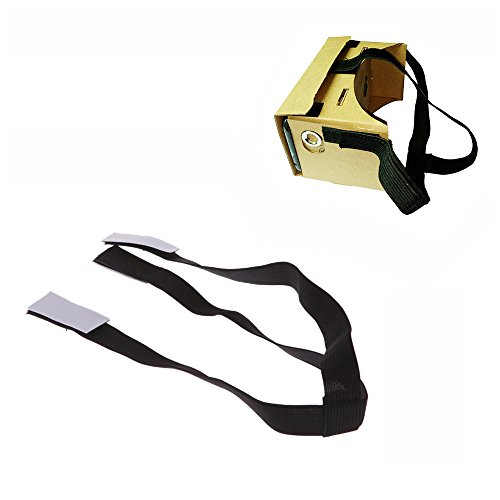 Best Price Andoer Detachable Elastic Adjustable Head Mout Strap Belt for Google Cardboard Virtual Re...