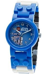 Lego - 9002915 - Star Wars R2D2 - Coffret Cadeau - Montre Enfant - Quartz Analogique - Bracelet Plastique Multicolore + Figurine