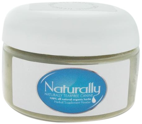 Naturally Tearfree Canine All Natural Dog Tear Stain Remover, 4-Ounce Jar