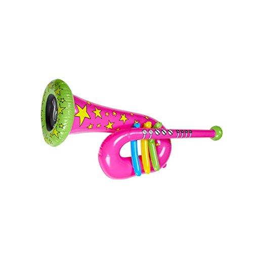 Aufblasbare-Tuba-Trompete-Clown-pink-Zirkus-Posaune-Musik-Instrument-aufblasbar-Aufblasbares-Blasinstrument-Kostm-Accessoire