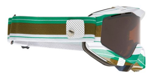 SPY ZED GREEN STRIPE Goggles