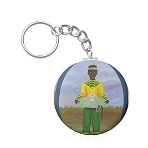 Amazon.com - Santeria Yoruba. Amulet Keychain with