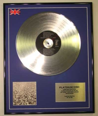 GEORGE MICHAEL/LTD Edizione CD platinum disc/LISTEN WITHOUT PREJUDICE