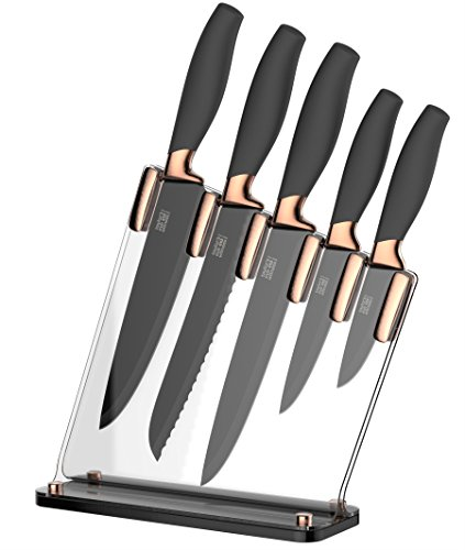 taylors-eye-witness-brooklyn-copper-5-piece-knife-block-set-with-sloping-clear-acrylic-block