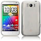 HTC Sensation XL Gel Skin Case / Cover - Clear PART OF THE QUBITS ACCESSORIES RANGEby Qubits