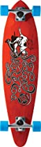 Sector 9 The Express Complete Skateboard, Red, 8.6-Inch x 34.5-Inch