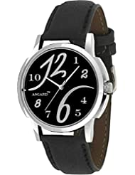 ASGARD SIL Analog Black Dial Men's Watch_GE-12&6