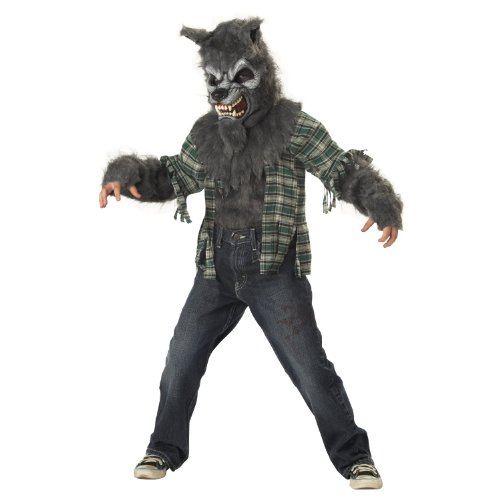 Child's Deluxe Werewolf Costume Size Medium 8-10