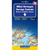 Carte routi�re : Norv�ge Centrale, IIpar Cartes K�mmerly + Frey