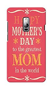 KnapCase Happy Mother's Day Designer 3D Printed Case Cover For OnePlus Two