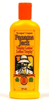 Cheapest Panama Jack Trophy Lotion, Full Sun No Sunscreens, 237 Ml / 8 Oz (Pack of 3) by Panama Jack - Free Shipping Available