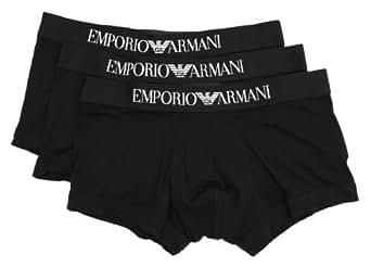 Emporio Armani - Boxer uni - S - Noir - Homme