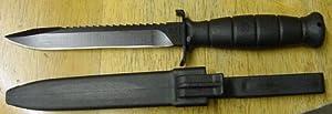 NEW! German GLOCK 81 Root Saw Black Commando Knife