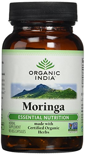 Organic India Moringa Capsules, 90 Count
