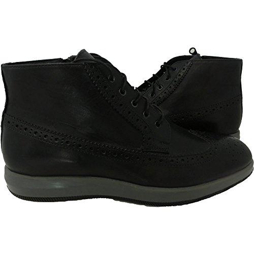 Exton scarpe uomo pelle 1172 - Sneaker made in italy, Blu, Numero: 45