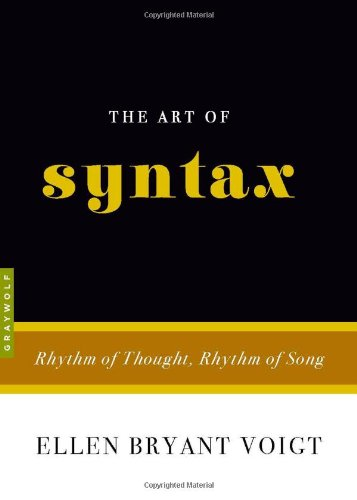 The Art of Syntax: Rhythm of Thought, Rhythm of Song