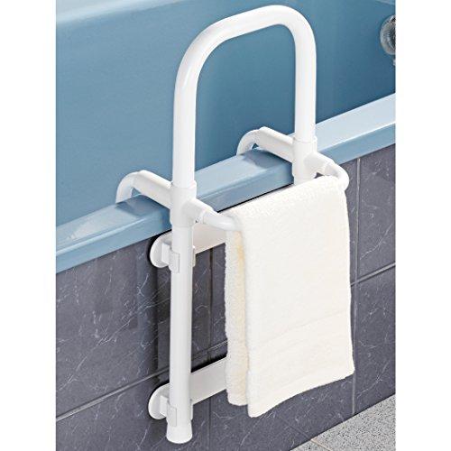 Wenko Wannen-Butler - Badewannen-Hilfe, aus Aluminium und Kunststoff