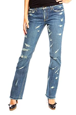 Earl Jean Straight Leg Jeans GLORY DAY, Color: Blue, Size: 26