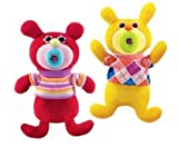 SingAMaJig Deluxe Singing Plush Figures Red and Yellow