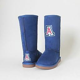 NCAA Arizona Wildcats Women\'s Varsity Boots, Navy, 7