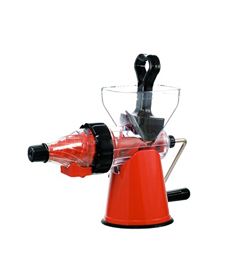 Hand Operated Slow Juicer : ZWEISSEN Hand Operated Fruit and vegetable Masticating Slow juicer and Cold Press pulp extractor ...
