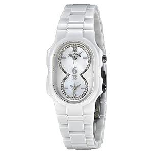 Philip Stein Mother of Pearl Diamonds Dial Steel Ladies Watch 1CW-DMOP-CW
