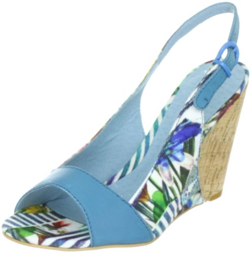 Desigual SHOES_SELENE Fashion Sandals Women blue Blau (VIOLETA ROYAL 5047) Size: 4 (37 EU)