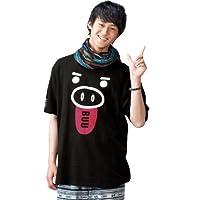 豊天 Tシャツ(半袖) ブラック 1158-3581-1 [3L・4L・5L・6L] 大きいサイズ メンズ