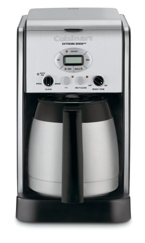 Cuisinart DCC-2750 Extreme Brew 10-Cup Thermal Programmable Coffeemaker, Silver (Cuisinart Carafe Insulated compare prices)