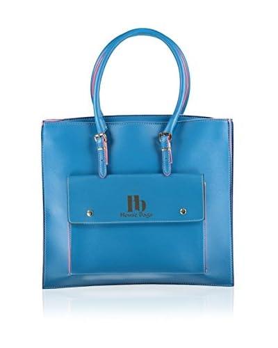 Housebags Bolso asa de mano Azul