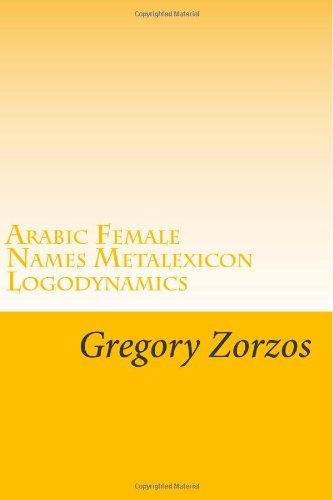 Arabic Female Names Metalexicon Logodynamics