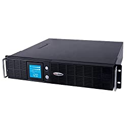CyberPower Smart App Intelligent LCD 2190 VA Tower/Rack-mountable UPS, OR2200LCRTXL2U
