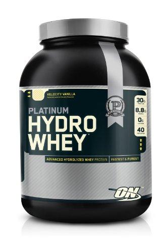 Optimum Nutrition 100% Platinum Hydro Whey Velocity Vanilla 3.5 Protein