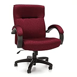 OFM 453-303 Stature Series Upholstered Executive Mid-Back Conference Chair