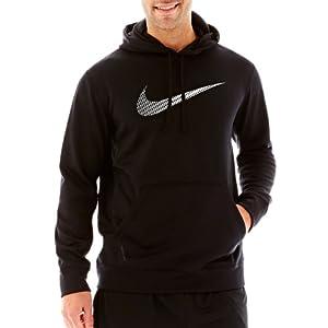 Nike KO High Density Performance Fleece Hoodie - Men large by Nike