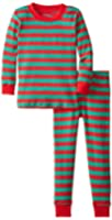 Sara's Prints Little Boys' Unisex Long John Pajamas