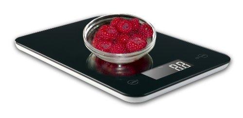 Ozeri Touch II - Balance de cuisine professionnelle en verre trempé noir