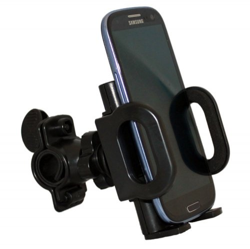 Xenda Universal Rotating Bicycle Mount Bike Handlebar Cell Phone Holder For Samsung Galaxy Note Ii N7100 - Samsung Galaxy S 3 Sch-I535 - Samsung Galaxy Note 2 Sch-I605 - Samsung Captivate Glide