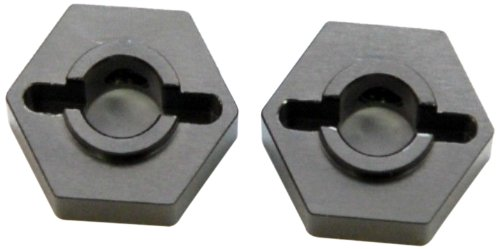 ST Racing Concepts STC9608-12GM Aluminum 12mm Rear Lock-Pin Style Hex Adapter for The SC10 (Gun Metal) - 1