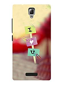 TREECASE Designer Printed Hard Back Case Cover For Lenovo A2010