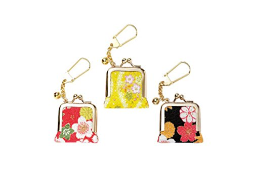 Cute Accessories Pierces Porch Yuzen Pink Color 1.7 X 1.5 Inches From Japan