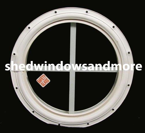 Small Round Windows: Round Shed Window White Small 10 Round Window Playhouse